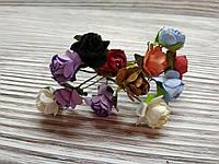 Набор цветочков искусственных декоративных №9