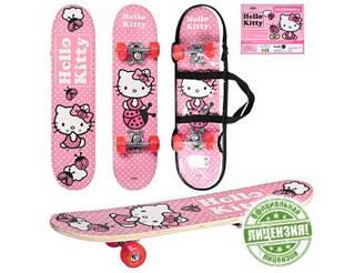 Скейт HK 0052 Hello kitty