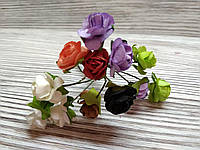Набор цветочков искусственных декоративных №10