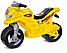 Детский двухколесный мотоцикл, толокар, беговел 501 Орион, 4 цвета, фото 6