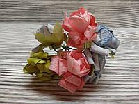 Набор цветочков искусственных декоративных №12