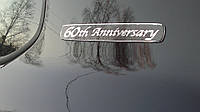 "Эмблема, надпись ""60th Anniversary"""