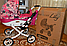 Коляска для кукол ЛиЛу Lily от Adbor Польша от 3 до 7лет, арт. К16, фото 8