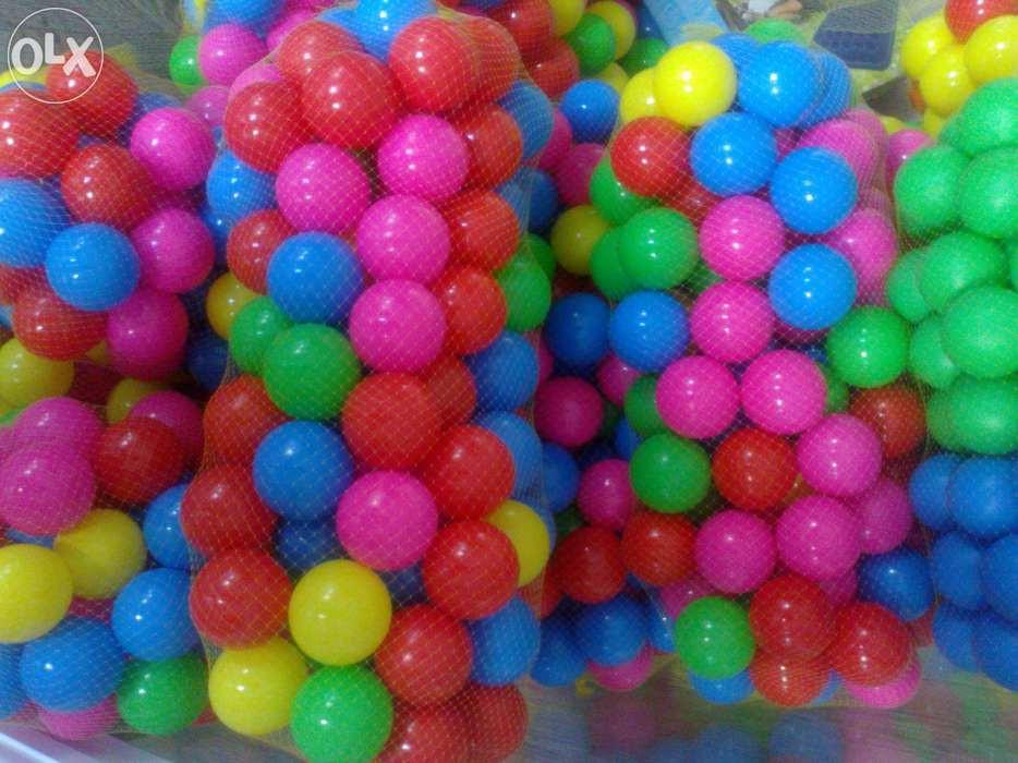Шарики (мячики) для сухого бассейна 6,5 и 8см, Украина
