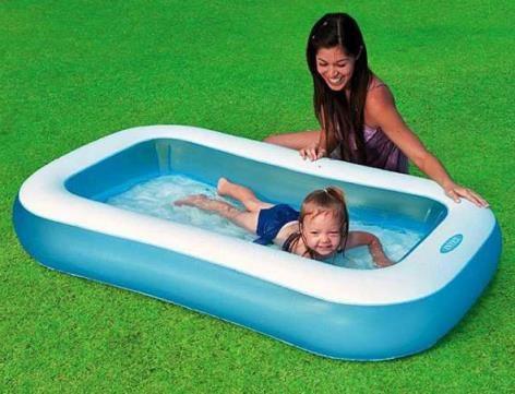 Надувной бассейн Intex 57403, размер: 166х100х28 см