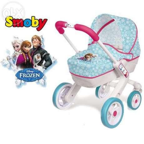 Коляска для куклы Smoby Frozen, Холодное сердце 511345