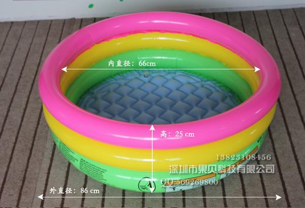 Детский надувной бассейн Intex 58924, 86*22см
