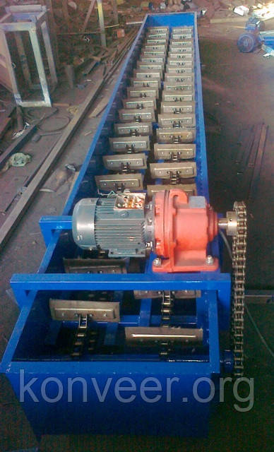 Конвейер (транспортер) скребковый, цепной, ТрЦС-250, 300