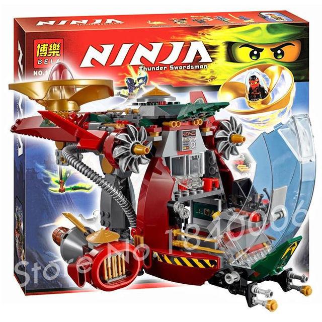 """Конструктор Bela Ninja (аналог Lego Ninjago) """"Ронин Рекс"""" 546 дет, 10398"""