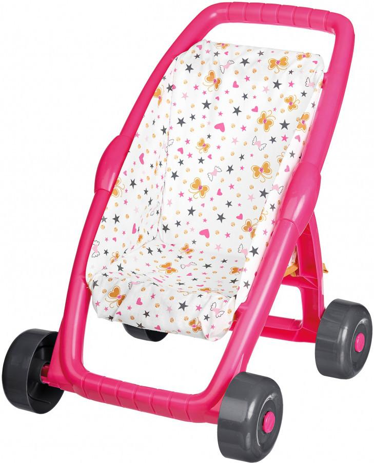 Коляска прогулочная для Baby Nurse Gold Edition Smoby 250223, до ручки 49см