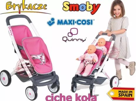 Коляска прогулочная для 2 кукол-близнецов Smoby Maxi Cosi Quinny 253298