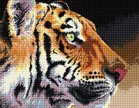 Рисование камнями на холсте Lasko Королевский тигр (TT005) 49 х 38,5 см