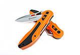 Нож Ganzo G621 оранжевый  серый, фото 4