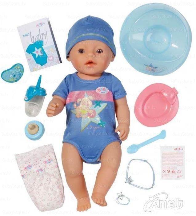 Интерактивный Baby Born Очаровательный малыш Zapf Creation 822012