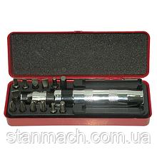 Ударно-поворотная отвертка с комплектом насадок (13ед.) HESHITOOLS HS-E1174
