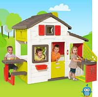 Игровой домик с кухней Smoby 810200, 217х155х172 см, 3+