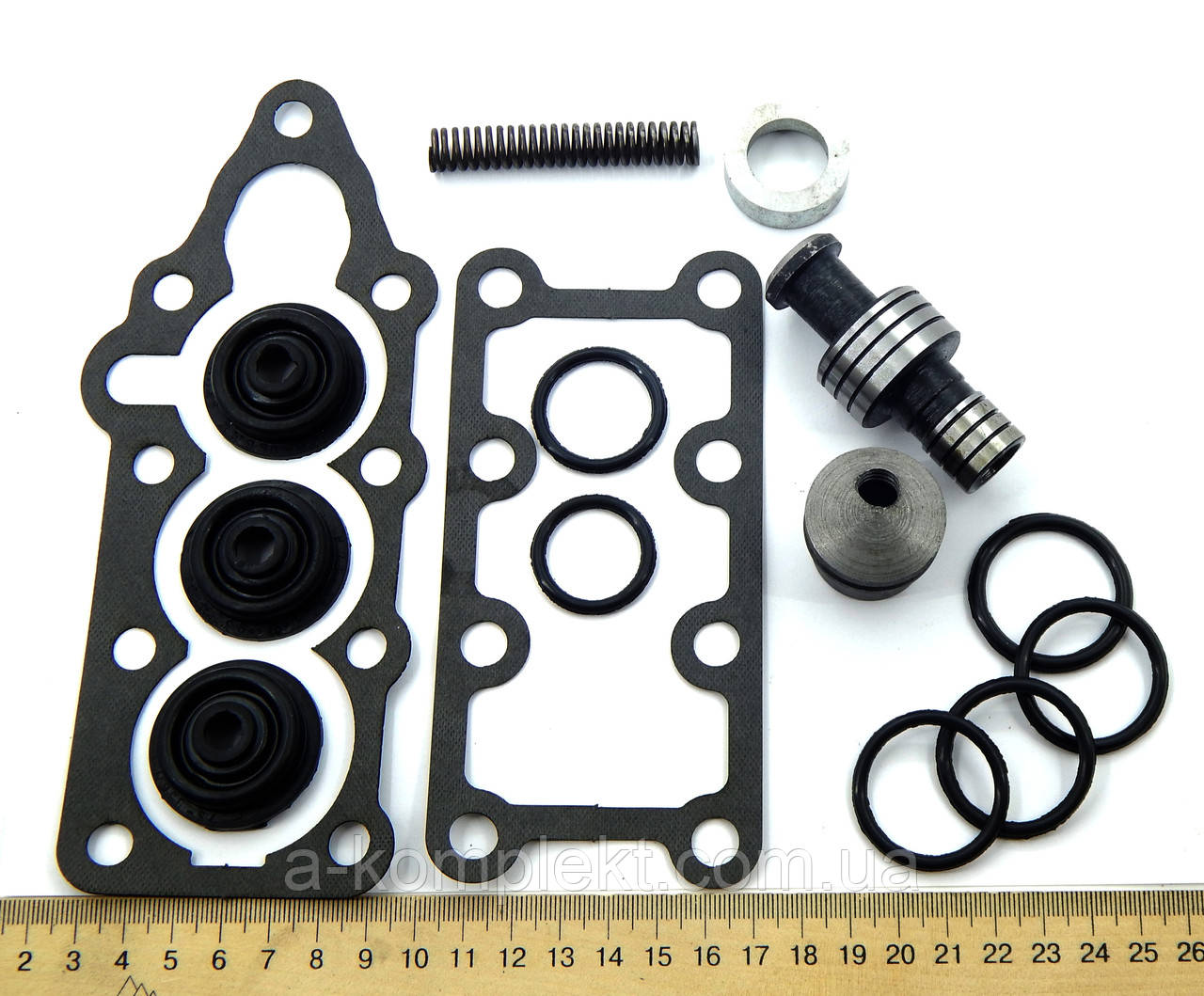 Ремкомплект гидрораспределителя Р-80 с клапаном (арт.508)
