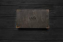 Деревянная коробка размер M (21,5*12*3,5 см) VOILE hand crafted, фото 3