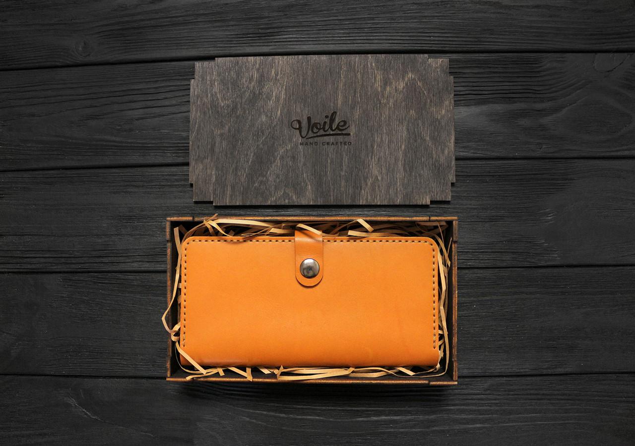 Деревянная коробка размер M (21,5*12*3,5 см) VOILE hand crafted