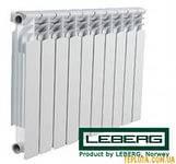 """Алюминиевый радиатор для отопления """"Leberg"""""""
