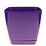 Горшок для цветов Тоскания 3,5 л квадратный разноцветные, фото 3