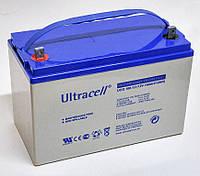Батарея аккумуляторная Ultracell UCG100-12, 12 Вольт, 100Ач GEL, гелевая