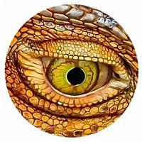 "Подвес ""Глаз дракона коричневый"" на шнурке, фото 1"