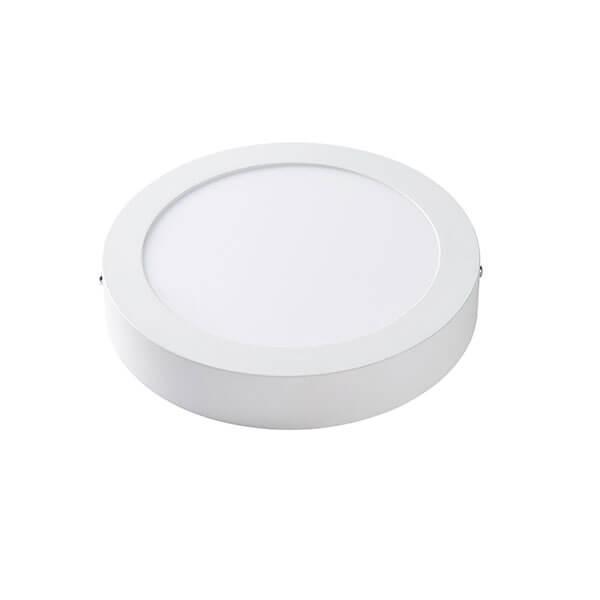 Светильник ЛЕД 18Вт накладной круг 4200К LED точечный Lezard
