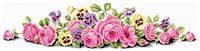 Картина своими руками - рисование камнями LASKO Розовые розы  (SK010), фото 1