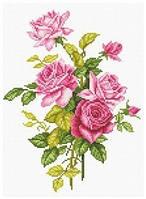 Картина своими руками - рисование камнями LASKO Розы  (SK015), фото 1