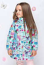 Весенняя удлиненная куртка на малышей размер, фото 3