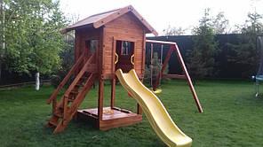 Детская площадка Spielplatz Отто с двойной качелью и песочницей, фото 3