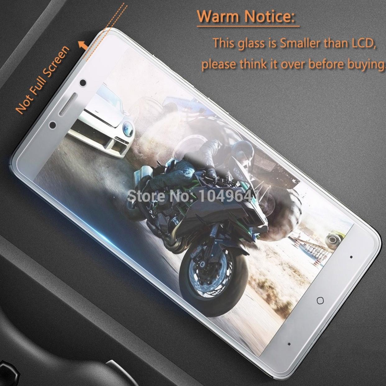 Закаленное защитное стекло Hacrin для China Mobile A3S / Чехлы силиконовые / бампера / чехлы-книжки /