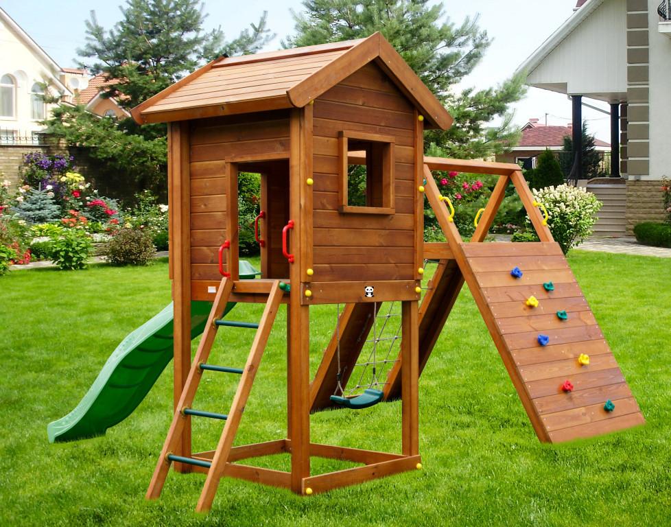 Детская площадка Spielplatz Отто с качелью и лазом Эсто