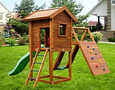 Дитячий майданчик Spielplatz Отто з гойдалкою і лазом Есто
