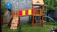Дитячий майданчик Spielplatz Томас Бруклини з лазами і канатної сходами