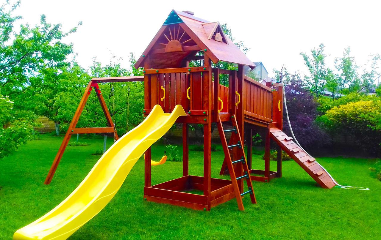 Дитячий майданчик Spielplatz Томас Бруклини з лазами і подвійний гойдалкою