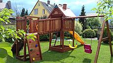 Дитячий майданчик Spielplatz Томас Бруклини з лазами і подвійний гойдалкою, фото 2