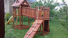 Дитячий майданчик Spielplatz Томас Бруклини з лазами і подвійний гойдалкою, фото 3