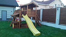 Детская площадка Spielplatz Витольд с двойной качелью, лазом, песочницей, прилавком, фото 2