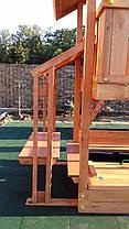 Детская площадка Spielplatz Бруно с качелью, лазом Эсто, столиком и песочницей-трансформер, фото 3