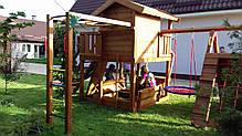 Детская площадка Spielplatz Витольд с рукоходом, лазом, лазом Эсто, прилавком и песочницей-трансформером, фото 2