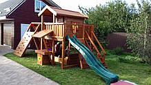 Детская площадка Spielplatz Витольд с рукоходом, лазом, лазом Эсто, прилавком и песочницей-трансформером, фото 3