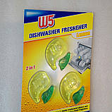 Средство для удаления жира и запаха в посудомоечных машинах  W5  2 in1 Dishwasher cleaner, фото 2