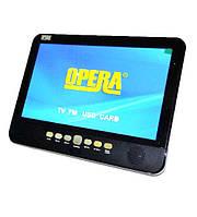 """Портативный телевизор Opera 1001, 10"""" дюймов + встроенный аккумулятор"""