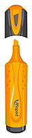 Текст-маркер fluo peps classic, оранжевый mp.742535