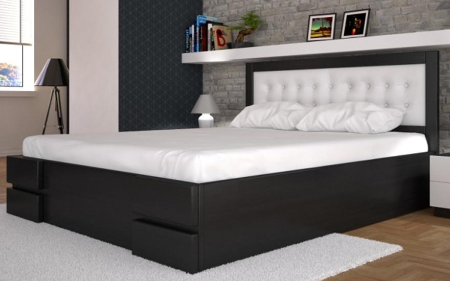 Ліжко Кармен дерев'яні з підйомним механізмом