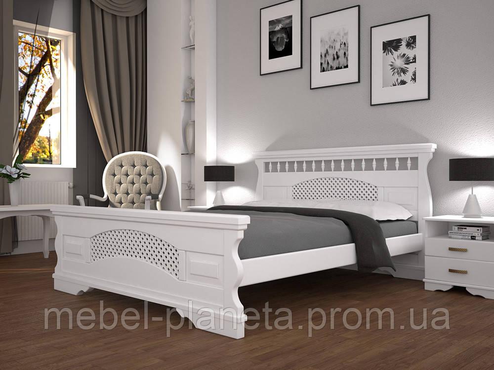 """Двоспальне ліжко """"Атлант 23"""" Тіс"""