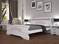 """Двуспальная кровать """"Атлант 23"""" Тис"""