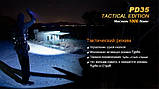 Фонарь Fenix PD35 Cree X5-L V5 TAC Tactical Edition, фото 8